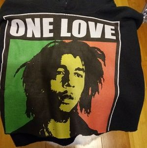 Sweaters - Bob Marley croppes sweater